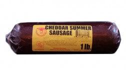 1 lb Cheddar Beef Sausage
