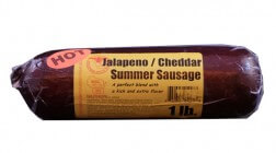 1 lb Jalapeno Cheddar Sausage
