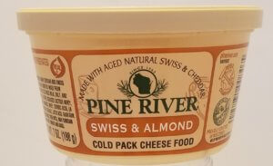 8oz Swiss Almond Cheese Spread
