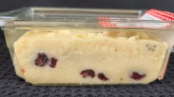 Cranberry White Chocolate Fudge